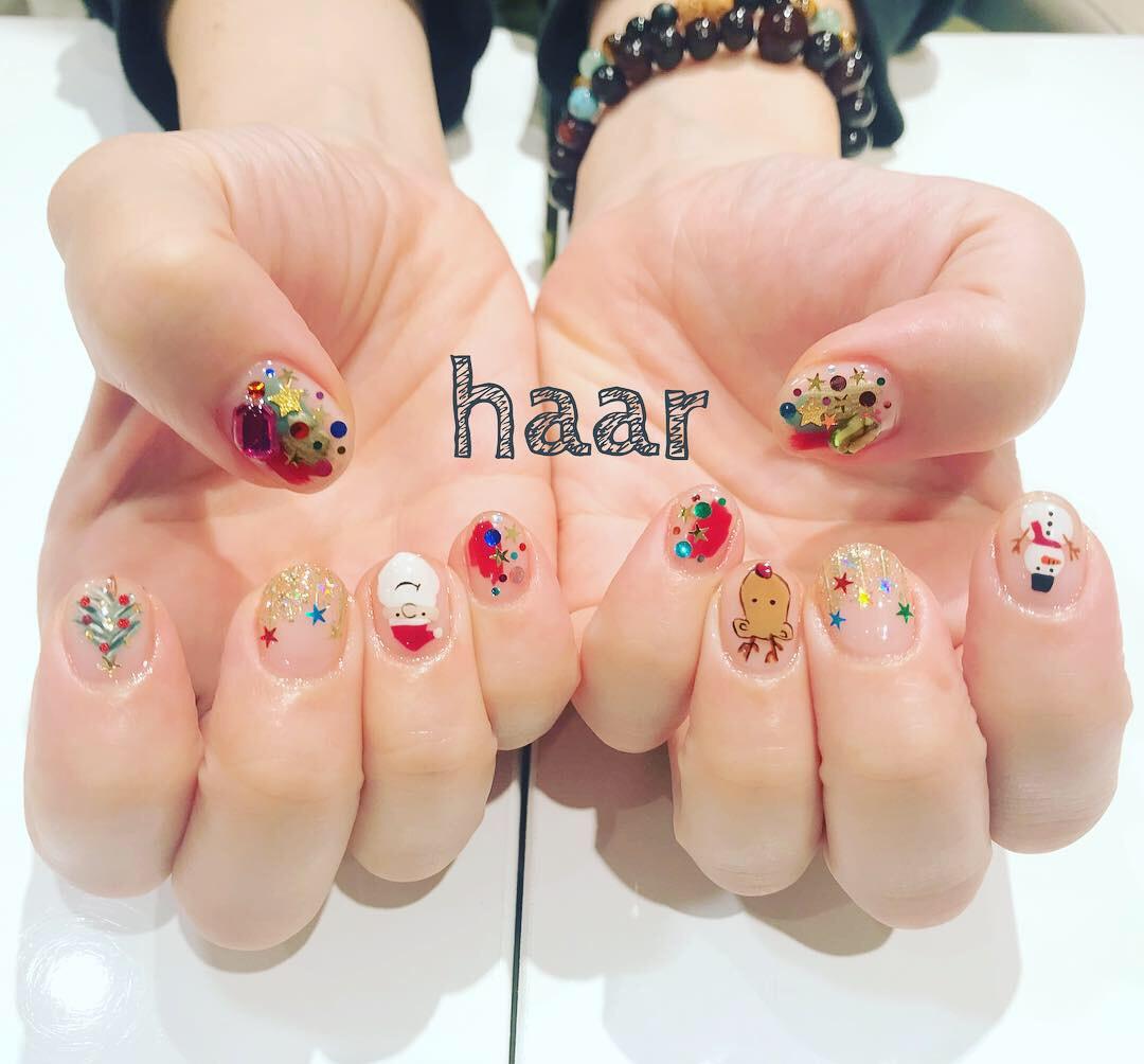 haar nail ♡