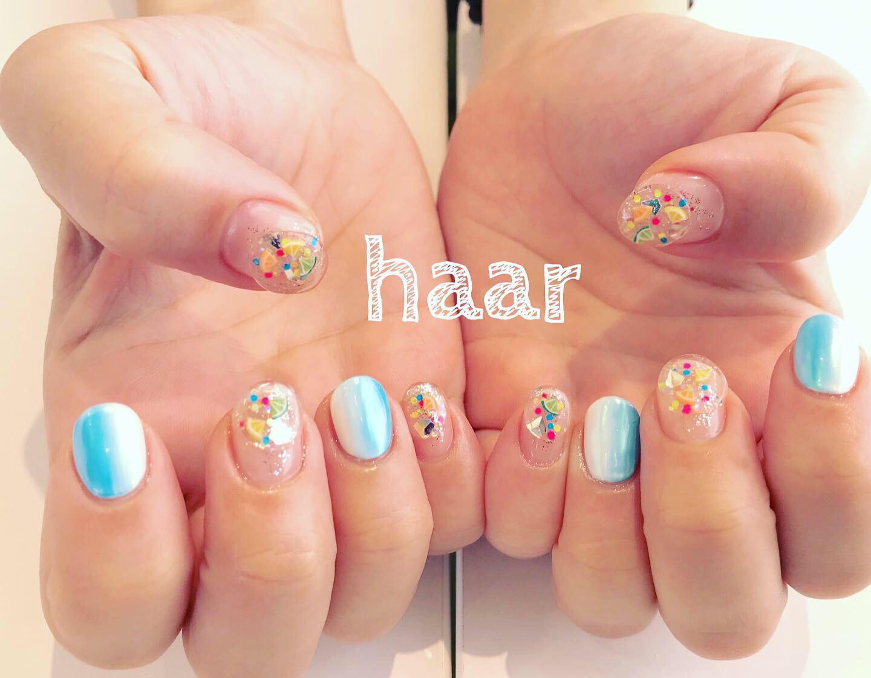 haar nail ❤︎ お客様ネイル
