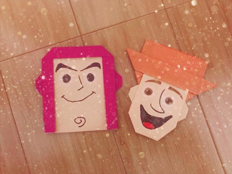 haar nail❤︎ 折り紙
